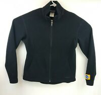 Patagonia Synchilla Womens Black Full Zip Fleece Jacket Medium