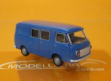 Brekina 34430 FIAT 238 Halbbus blau Scale 1 87