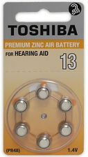 Toshiba Hearing Aid Batteries Size 13 (360 Batteries)
