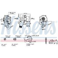 Nissens Turbolader Lader Aufladung Turbo 93237