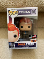 Funko Pop! Conan O'Brien, (Gray Suit) #20, GameStop Exclusive