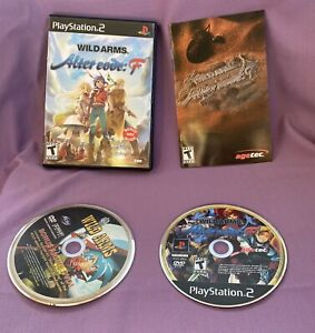 Wild Arms: Alter Code F (Sony PlayStation 2, 2005) Complete CIB Game PS2