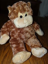 "Teddy Mountain 16"" Mookie The Monkey Brown Plush Soft Curly Denmark EUC"