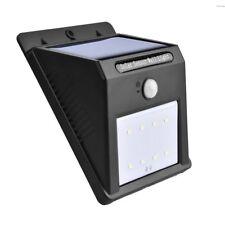 Luz Solar exterior Luces LED de Pared Blanco 6000K PIR con Sensor de movimiento
