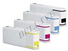 KIT 4 Cartucce Compatibile per EPSON WORKFORCE PRO WP 4525DNF 4535DWF NUOVE BL