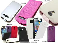 High Quality Leather Flip Case Cover for Samsung Galaxy SII SIII SIV SV models