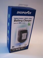 DigiPower Qc-500S Battery Charger for Sony & Other Digital Cameras