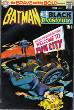 The Brave and the Bold #91 (DC 1970) Batman/Black Canary - No stock images