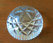 Tipperary Crystal Paper Weight Ireland Signed