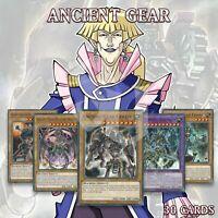 ANCIENT GEAR DECK 30 | Ultimate Golem Reactor Dragon Frame Catapult Hydra YuGiOh