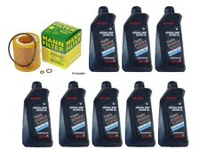 8-Quarts Genuine Bmw Synthetic 5w30 Motor Oil &1-oem MANN Oil Filter for BMW
