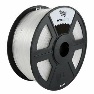 WYZworks Premium TPU SOFT 1.75mm 3D Printer Filament1kg/2.2lb MakerBot Monoprice