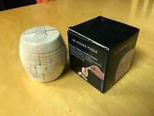 3D Wooden Puzzle. Barrel Shaped (NEW!)