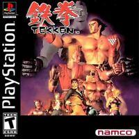 Tekken - PlayStation 1 (PS1) Game *CLEAN VG