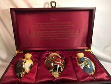 "Ne' Qwa Art Christmas Ornament Boxed Set ""Santa Collection"", Artist Susan Winget"