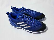Womens Adidas PowerAlley Softball Metal Cleats Blue B39221