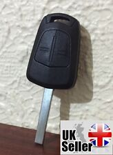 "2 Button Key Fob Case FOR Vauxhall Opel Corsa Agila Meriva Combo ""WITH LOGO"""
