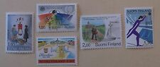 Finland Stamp 5 Sets Between 785-819  MNH Cat $4.55