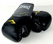 Everlast EverShield Pro Style Elite Training Gloves 14 oz. Black/Grey Brand New