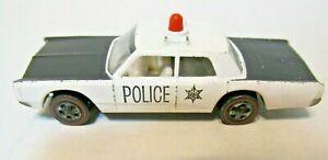 Hot Wheels Redline 1968 Cruiser Police Car Issued 1969 Nice Early HW RL