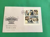 Sweden 1993 Kungliga Familjen Royal Family First Day Cover stamp cover R36712