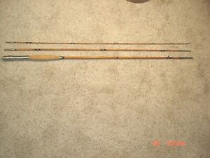 MONTAGUE  BAMBOO FLY ROD   9FT 3/1    ONE TIP SECTION 9 FT  3 SECTION