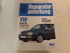 Reparaturanleitung VW Golf III GTI  VR6 ab 1991 * 16V Motor  2,8l  VR6 Motor