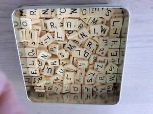 SCRABBLE LETTERS FOR CRAFT WORK ETC APPROX. 300 pieces.