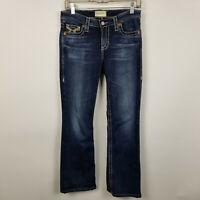 Big Star Maddie Boot Cut Dark Wash Womens Jeans Size 27x28