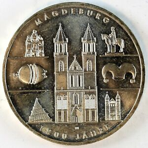 Allemagne - 10 euro argent 2005 - 1200 ans de Magdebourg