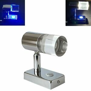LED Reading Light 12V 24V Spotlight Day Night Touch Switch USB Caravan Boat Lamp