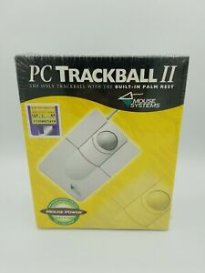 Vintage PC Trackball II - Works With Windows 10 - Serial and PS2 connector