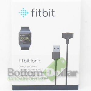 Fitbit FB164RCC Ionic Watch Charging Cable Black
