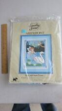 "Something Special Needlepoint Kit #30531 Fairy With Swan Picture NIP 12"" x 16"""