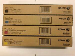 Xerox Dc700/700i/J75/C75 Toner Set PartNumber:006R01383/84/85/86