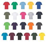 Fruit of the Loom Men's 10 Pack Cotton Original V Neck T Shirt Short Sleeves Tee