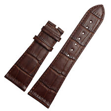 New 26mm x 20mm Brown Leather Watch Strap Band Compatible with FM 6000 H watch