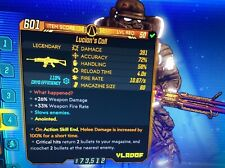 Borderlands 3 Special Weapon - Lucian's Call *Anointed* Lvl 50 - XBOX ONE ONLY