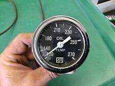 Stewart Warner Big Block Logo Working Oil Temperature Gauge Nice!! SCTA TROG