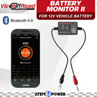 12V Vehicle Battery Monitor Via Bluetooth 4.0 Voltage Meter Auto Alarm Tester