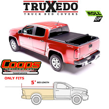 TruXedo Soft Roll Up Tonneau Bed Cover Fits 2015-2021 GM Colorado Canyon 5FT Bed