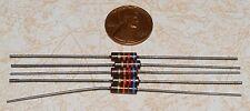 5 IRC 62K ohm 1/2W Carbon Comp Resistors NOS 5%