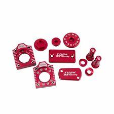 Tusk Billet Bling Kit RED SUZUKI RM125 RM250