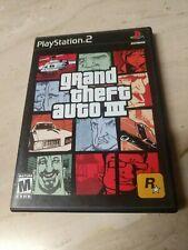 Grand Theft Auto III GTA PlayStation 2 PS2
