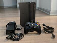 New listing Microsoft Xbox 360 S Slim 250 Gb Model 1439 Matte Black Console With Controller