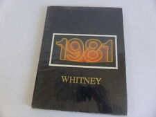 Whitney High School 1981 Cerritos, CA. Yearbook  Classmates Ancestry Family Info