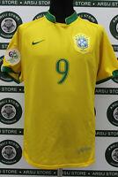 Maglia calcio RONALDO BRASILE TG L 2006 shirt trikot camiseta maillot jersey