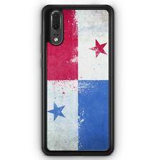 Huawei p20 Silicone Housse Panama Grunge Motif Design housse pour téléphone portable Housse De Protection Cove