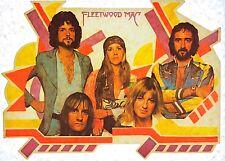 Original Vintage Fleetwood Mac Iron On Transfer