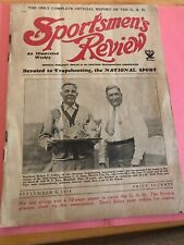 KK722 Rare Sportsman Review Sept 1934 Trap Shooting Olin Winchester East Alton